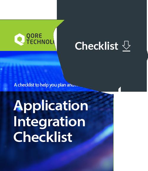 Application Integration Checklist